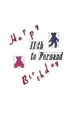 motif happy birthday