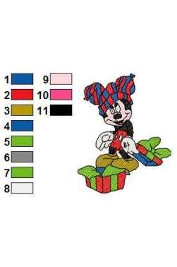 motif Mickey cadeau (seul)
